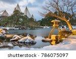 kanazawa  ishikawa  japan... | Shutterstock . vector #786075097