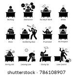 worker working in a very... | Shutterstock . vector #786108907