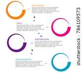 abstract business data... | Shutterstock .eps vector #786109573