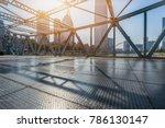 tianjin downtown cityscape seen ... | Shutterstock . vector #786130147