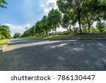 clean road and blue sky | Shutterstock . vector #786130447