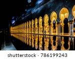 abu dhabi  united arab emirates ...   Shutterstock . vector #786199243