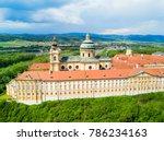 melk abbey monastery aerial... | Shutterstock . vector #786234163
