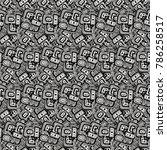 vector drawing halftone