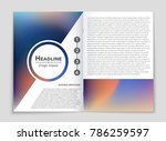 abstract vector layout... | Shutterstock .eps vector #786259597