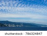 sagami bay and autumn cloud | Shutterstock . vector #786324847