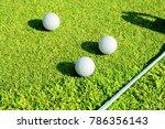 putter driving range | Shutterstock . vector #786356143
