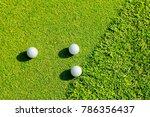 putter driving range | Shutterstock . vector #786356437