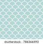 abstract art deco seamless... | Shutterstock .eps vector #786366493