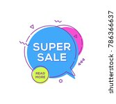 sale banner design template.... | Shutterstock .eps vector #786366637