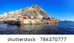 the fisherman village called a... | Shutterstock . vector #786370777