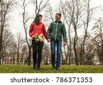 date of middle aged loving... | Shutterstock . vector #786371353