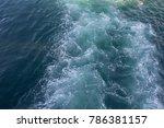 Small photo of Tides of agitated sea
