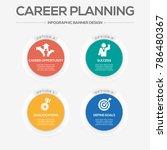 career planning infographic... | Shutterstock .eps vector #786480367