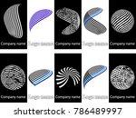 abstract logo design.logo...   Shutterstock .eps vector #786489997