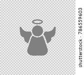 angel vector icon eps 10.... | Shutterstock .eps vector #786559603