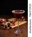 Small photo of pomegranate fruit. alcoholic beverage. alcohol drink