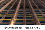 side of a tall building | Shutterstock . vector #786657757