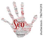 vector conceptual search... | Shutterstock .eps vector #786744193