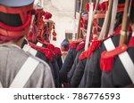 soldiers in training....   Shutterstock . vector #786776593