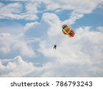 Seeing Parasailing From A...