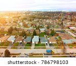 aerial bird eye view skyline at ... | Shutterstock . vector #786798103