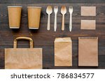 craft paper color set. paper... | Shutterstock . vector #786834577