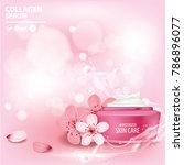 sukura   cherry blossom...   Shutterstock .eps vector #786896077
