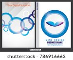 annual report cover design | Shutterstock .eps vector #786916663