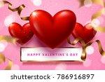 vector valentine's day...   Shutterstock .eps vector #786916897