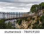 windsor bridge   gibraltar s... | Shutterstock . vector #786919183