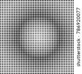 monochrome geometric round... | Shutterstock .eps vector #786920077