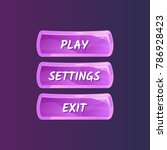 purple panel for game menu...