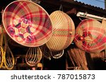 made baskets shop.there are... | Shutterstock . vector #787015873