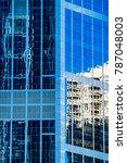 modern architecture concept ... | Shutterstock . vector #787048003