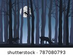 vector flat illustration of...   Shutterstock .eps vector #787080793