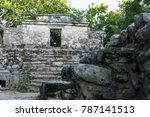 view to stone made ancient... | Shutterstock . vector #787141513