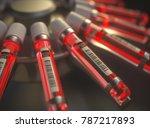 3d illustration. centrifuge... | Shutterstock . vector #787217893