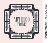 vintage retro border and frame... | Shutterstock .eps vector #787222453