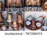 beautiful turkish handmade...   Shutterstock . vector #787280473