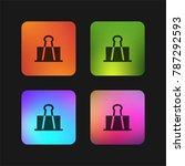 clip four color gradient app...