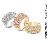 diamonds wedding eternity band... | Shutterstock . vector #787315963