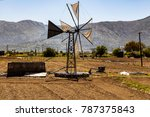 Traditional Cretan Windmill