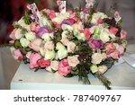 wedding decor and wedding... | Shutterstock . vector #787409767