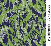 camouflage pattern in vector