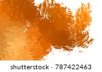 brushed painted abstract... | Shutterstock . vector #787422463