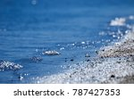 wave splash of the water in the ... | Shutterstock . vector #787427353