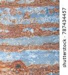 iron rust  steel rust  steel... | Shutterstock . vector #787434457