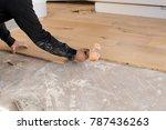 renovation of an apartment ... | Shutterstock . vector #787436263
