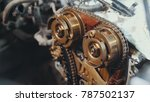 the internal combustion engine  ... | Shutterstock . vector #787502137